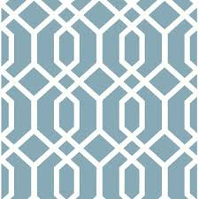 Blue Pattern Wallpaper Stunning Blue Wallpaper You'll Love Wayfair