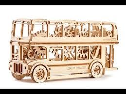"""Механический 3D пазл """"Лондонский автобус"""" <b>Wooden City</b> ..."""