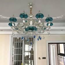 Moderne Glas Kronleuchter Wohnzimmer Led Lampen Kronleuchter