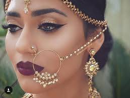 bridal nose ring ideas stunning bridal nath designs that indian brides sla witty vows