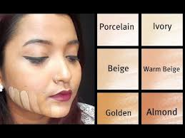Indian Skin Complexion Chart How To Choose The Right Foundation Shade Beginner Indian Skin Tone