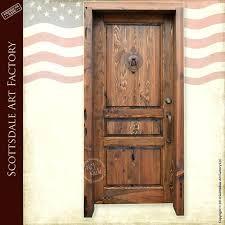 custom size steel exterior doors entry wooden door hand crafted by master c61