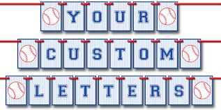 baseball pennant banner template diy bunting template instant via simonemadeit com