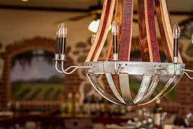 french country wine barrel chandeliers