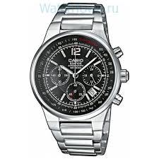 <b>Casio Edifice EF</b>-<b>500D</b>-<b>1A</b>: <b>мужские</b> наручные <b>часы</b> – купить в ...