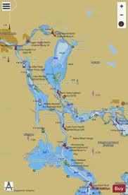 St Marys River Munuscong Lake To Sault Ste Marie Marine