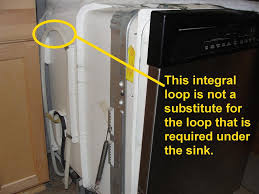 i ve heard diffe reasons for why an additional loop is required under the sink so i decided to contact the manufacturers directly