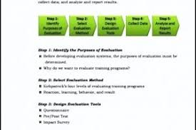 Sample Training Evaluation Form | Templatezet