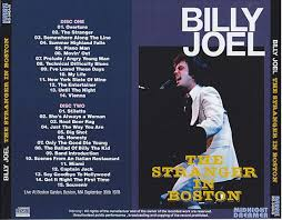 10×8 inch unframed typography art print, rrp £9.99. Billy Joel The Stranger In Boston 2pro Cdr Midnight Dreamer Md 540a B Discjapan