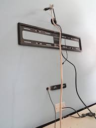 wiring tv on wall solidfonts how to hide wiring for wall mounted tv solidfonts