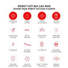 Robot Xiaomi hút bụi lau nhà Mijia Gen 2 (Mop P) - Bản quốc tế - Máy hút  bụi