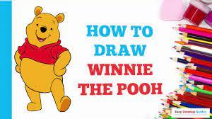 Hướng dẫn vẽ gấu Winnie the Pooh - Vẽ Hoạt Hình