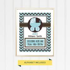 Cross Stitch Birth Announcement Patterns Free Amazing Inspiration Ideas