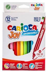 <b>Фломастеры Carioca Joy</b>, 12 цветов - купить по цене 0 руб. в ...