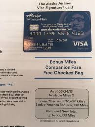 Targeted 35000 Bank Of America Alaska Airlines Offer Doctor Of