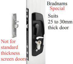 sliding security screen or glass door