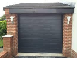 black garage doorAnthracite Garage Door  Protec Garage Doors Ltd