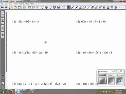 10 Multi Step Equations Answers Math Cover Solving Worksheet Works ...