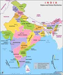 India Map | Free Map of India With States, UTs and Capital Cities to  Download