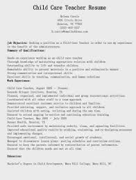 Child Care Resume Sample Adorable Pin By Job Resume On Job Resume Samples Pinterest Sample Resume