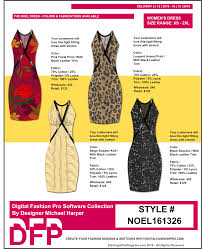 Design And Create Your Own Clothes Apparel Design Software Line Sheet Sample Digital Fashion