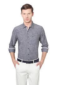 Allen Solly Blazer Size Chart Allen Solly Shirts Allen Solly Grey Shirt For Men At Allensolly Com