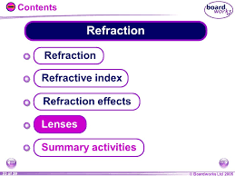 23 refraction refraction refractive index