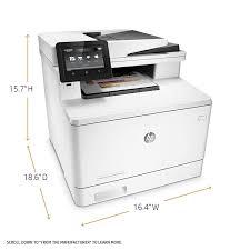 Amazon Com Hp Laserjet Pro M477fdn Multifunction Color Laser How To Make A Printer Print In Color L
