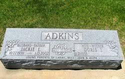 """Jackie Lee """"Jack"""" Adkins (1930-2002) - Find A Grave Memorial"""