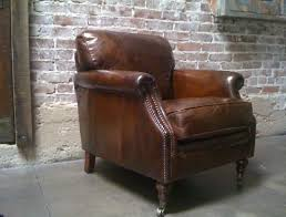 distressed leather chair.  Chair Pin It These Distressed Leather Club Chairs  On Distressed Leather Chair O