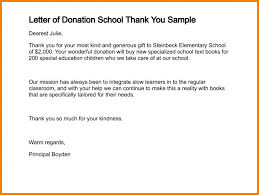 5 Donation Letters For Schools Instinctual Intelligence