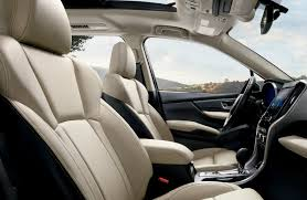 cabin of the 2019 subaru ascent limited