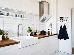 decordots scandinavian home white kitchen cabinets without handles