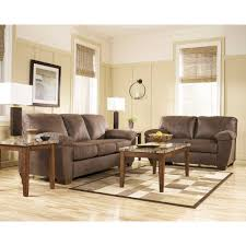 Tables Sets For Living Rooms Walnut Theo Living Room Group 5 Pc With 3 Pc Occasional Table Set