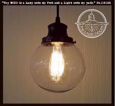 clear glass pendant lights. Clear Glass PENDANT Light - The Lamp Goods Pendant Lights