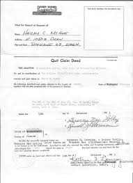 Quit Claim Deed Frances Mae Mcgee To Harry Clarence Form Florida