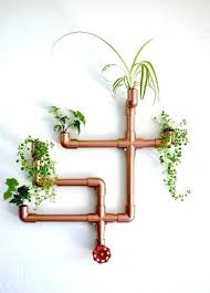 wall mounted planters copper wall planter hanging wall planter canada . wall  mounted planters ...
