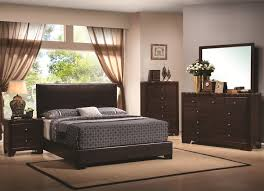 Cal king 4 pc set, conner (bed, dresser, nightstand, mirror)