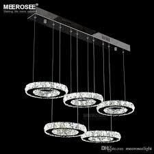 modern chrome chandelier crystals diamond ring led lamp circle stainless steel hanging light fixtures lighting led res white chandelier orb chandelier