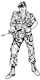 Oorlog Wapens Leger Kleurplaten
