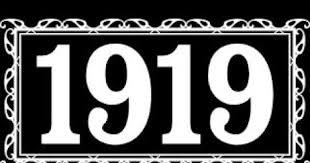 100 Years Ago - 1919 - Dedpepl