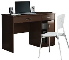 narrow computer desk monumental astonishing light brown cherry wood small with living room