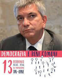 Nichi VENDOLA a Democrazia e Beni Comuni - Forum Tramandare del 13/02/2021  - Generazioni Future