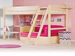 girls loft bed with desk underneath building bunk beds with desk raindance bed designs home pictures
