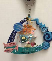 karen rossi silvestri fanciful flights pisces horoscope ornament beads charms