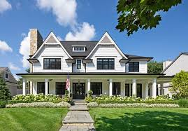 classic home with wrap around porch