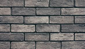 grey thin clay split brick cladding