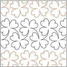 Hawaiian Quilt Patterns | Clover-quilting-pantograph-pattern ... & Hawaiian Quilt Patterns | Clover-quilting-pantograph-pattern-Lorien-Quilting . Adamdwight.com