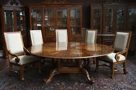 Large Round Wooden Kitchen Tableslarge Round Dining Table Set Large