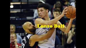 lakers vs clippers - lonzo ball stats ...